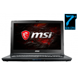 "Notebook Gamer MSI GL72 7RDX Core i7 8GB 1TB 17.3"" GTX 1050 2GB FreeDOS"