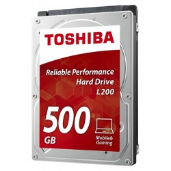 Disco Duro 2.5'' Toshiba Notebook 500GB SATA2