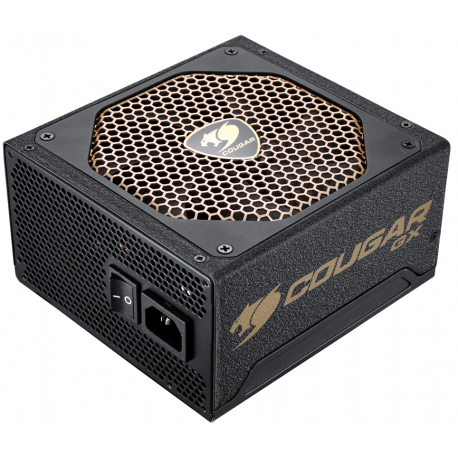 Fuente de Poder GameMax GM-800 800W Modular 80 Plus Bronze
