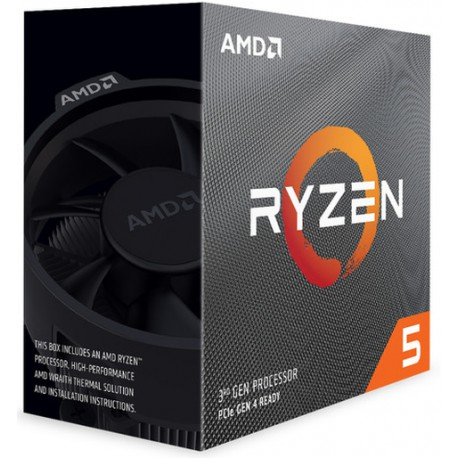 Procesador AMD Ryzen 5 3400G Quad-Core 4.2 GHZ AM4