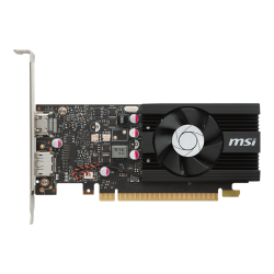 Video MSI GeForce GT 1030 2GB GDDR4 LP OC 64bits