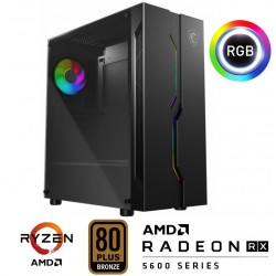 PC VEGA Ryzen 5 3400G 8Gb SSD240Gb 650W Bronze